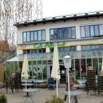 Das Café Affenbrot im Lübecker Werkhof