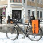 Mit dem Rad zum veganen Restaurant Kopps in Berlin-Mitte