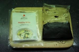 Hatcho-Miso wird zwei Jahre lang fermentiert